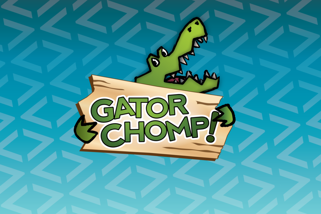 Gator Chomp title Screen