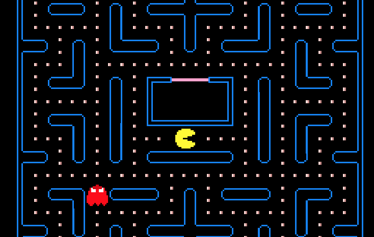 Pacman Game from tutorial